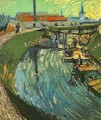 Canal With Women Washing - Vincent Van Gogh