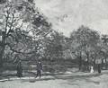 Bois De Boulogne With People Walking The III - Vincent Van Gogh