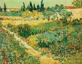 Flowering Garden With Path - Vincent Van Gogh