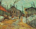 The Factory At Asnieres - Vincent Van Gogh