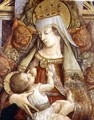Madonna Suckling the Christ Child - Carlo Crivelli