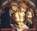 Lamentation of the Dead Christ, detail from the Sant'Emidio polyptych, 1473 - Carlo Crivelli