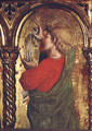 St. John the Evangelist, detail from the Sant'Emidio polyptych, 1473 - Carlo Crivelli
