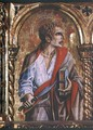 St. Bartholomew, detail from the Sant'Emidio polyptych, 1473 - Carlo Crivelli