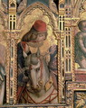 St. Martin, detail from the San Martino polyptych - Carlo Crivelli