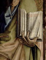 St. Paul, detail of the Book of Epistles, from the Sant'Emidio polyptych, 1473 - Carlo Crivelli