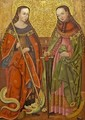 St. Catherine and Margaret - Unknown Painter