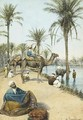 The Carpet Seller by the Nile (Le marchand de tapis au bord du Nil) - Enrico Tarenghi
