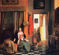 The Mother - Pieter De Hooch