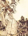 Mother Goose: The Fair Maid who the first of Spring - Arthur Rackham