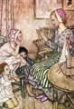 Goblin Market: Laura would call the little ones - Arthur Rackham