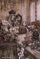 Alice in Wonderland: Who Stole the Tarts? - Arthur Rackham