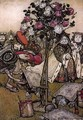 Alice in Wonderland: The Queen's Croquet Ground - Arthur Rackham