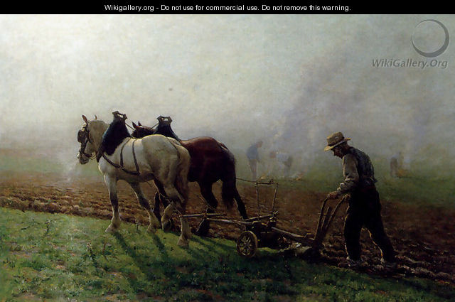 The Ploughman - Georges-Philibert-Charles Maroniez
