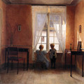 Ved Vinduet (At the Window) - Peter Vilhelm Ilsted