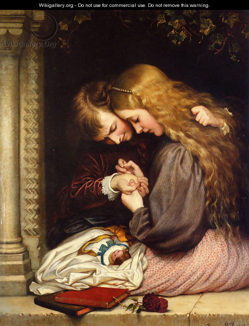 The Thorn I - Charles West Cope