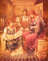 The Music of a Bygone Age I - John Melhuish Strudwick