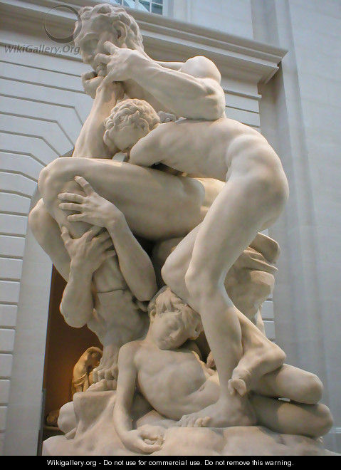 Ugolino and his Sons [detail #2] - Jean-Baptiste Carpeaux