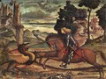 St George and the Dragon [detail: 1] - Vittore Carpaccio