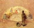 The French Fan - Emil Carlsen