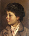 Head of a Young Boy - Eugene de Blaas