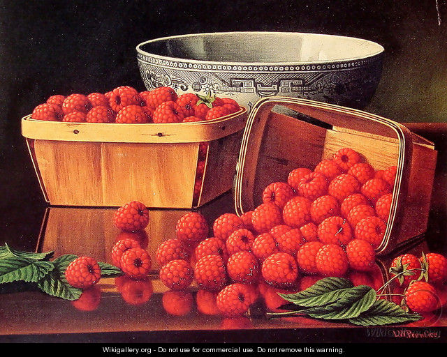 Baskets of Raspberries - Levi Wells Prentice