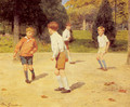 Boys Playing - Victor-Gabriel Gilbert