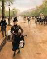 La Modiste Sur Les Champs Elysees (The Milliner on the Champs Elysees) - Jean-Georges Beraud