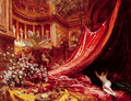 Symphony in Red and Gold - Jean-Georges Beraud
