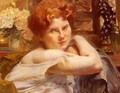 Le Femme Aux Cheveux Roux (The Woman with the Russet-red Hair) - Paul Albert Besnard