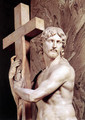 Christ Carrying the Cross [detail: 1] - Michelangelo Buonarroti
