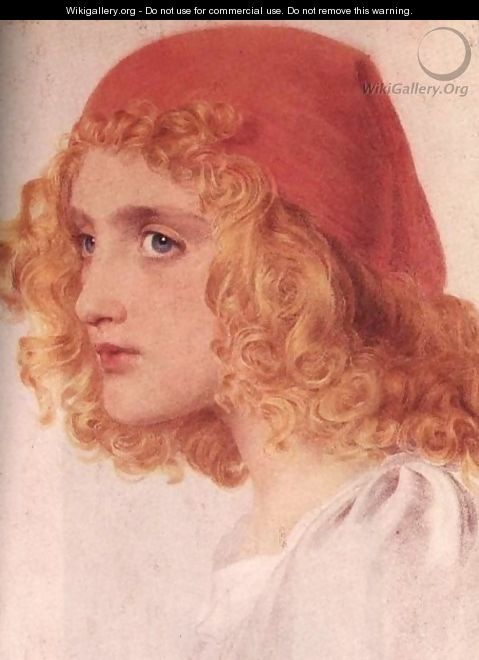The Red Cap I - Anthony Frederick Sandys