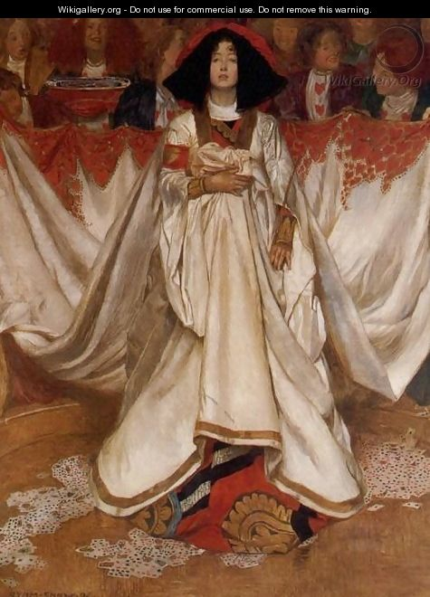The Queen of Hearts - John Byam Liston Shaw
