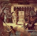 The Ramparts of God's House (detail) - John Melhuish Strudwick