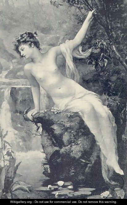 The Nymph of the Stream - Henrietta Rae (Mrs. Ernest Normand)
