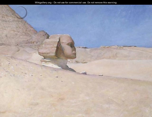 The Sphinx at midday in Summer - Sir William Blake Richmond