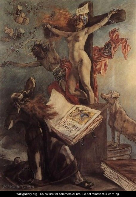 The Temptation of St. Anthony - Felicien Rops