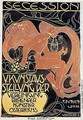 Poster for the 5th exhibition of the Wiener Secession - Koloman Moser