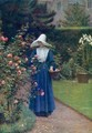 The Roses' Day - Edmund Blair Blair Leighton