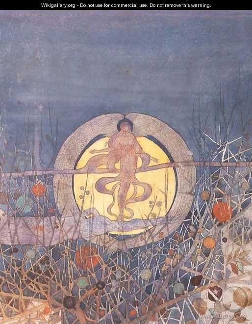 The Harvest Moon - Charles Rennie Mackintosh