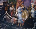 The Passage of the Holy Grail to Sarras - Edward Reginald Frampton