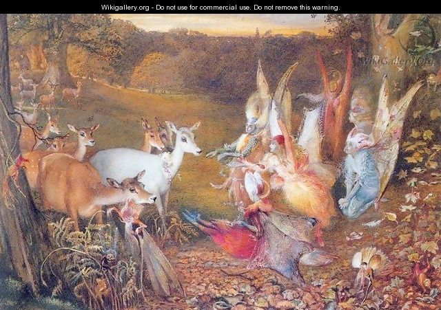The Enchanted Forest - John Anster Fitzgerald