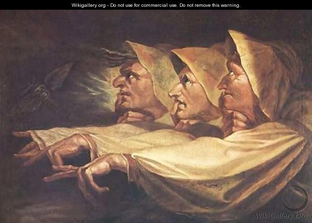 The Three Witches - Johann Henry Fuseli