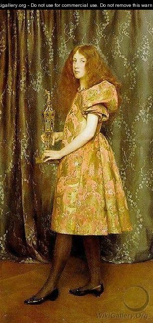 Heir to All the Ages - Thomas Cooper Gotch