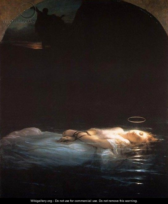 The Young Martyr - Paul Delaroche