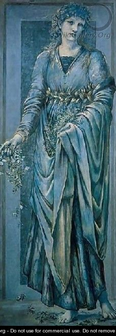 Flora - Sir Edward Coley Burne-Jones