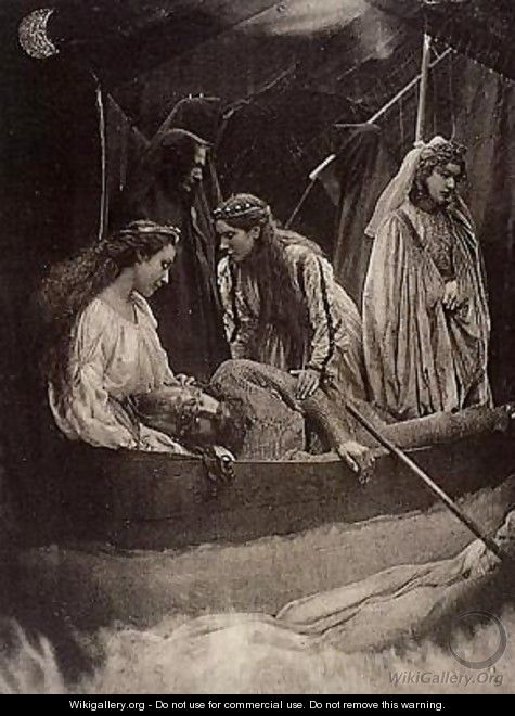 The Passing of Arthur - Julia Margaret Cameron