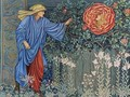 The Pilgrim in the Garden or The Heart of the Rose - Sir Edward Coley Burne-Jones