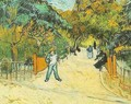 Entrance To The Public Park In Arles - Vincent Van Gogh