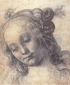 Head Of A Girl (study) - Andrea Del Verrocchio